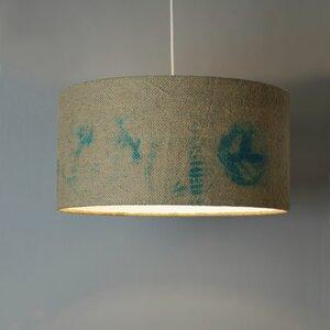 Deckenleuchte Perlbohne N°11 aus Kaffeesack - lumbono