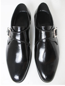 81 Monkstraps Schwarz Herren - Will's Vegan Shop