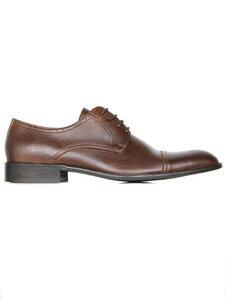 City-Derbys Kastanie Herren (weite Passform) - Wills Vegan Shoes