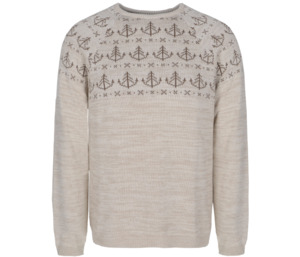 Bidges&Sons Unisex-Strickpullover White Lies - Bidges&Sons