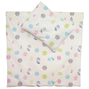 Baby Kinder Bettwäsche Bio-Baumwolle Bettbezug 2Tlg. Eulen-Winter - ege organics