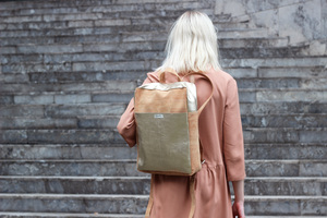 City Rucksack Backpack  - frisch Beutel