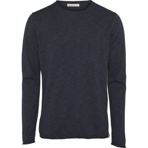 Pullover - Single knit with rool edge - KnowledgeCotton Apparel
