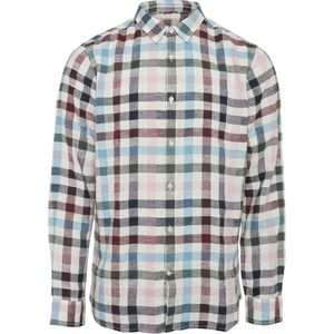 Hemd - Yarndyed checked shirt - Bistro Green - KnowledgeCotton Apparel