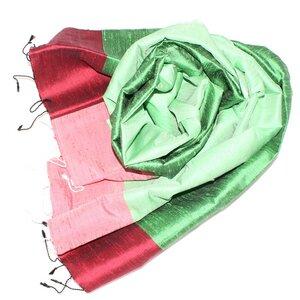 KIRA Edler Schal aus handgewebter Seide - Schönes aus Indochina
