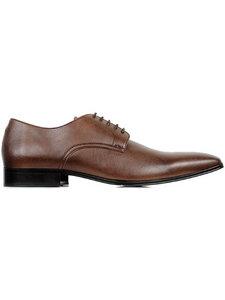Schmale Sohle Kastanie Herren - Wills Vegan Shoes
