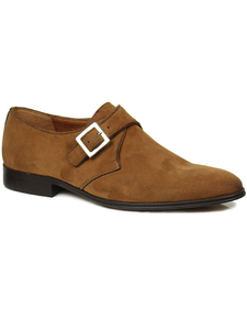 81 Monkstraps Braunes Veganes Wildleder Herren - Will's Vegan Shop