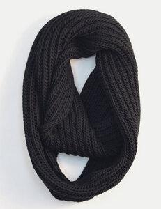 Schlauchschal Looploop schwarz - Zebratod