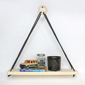 Wandregal Triangle mit Kordel - Gary Mash