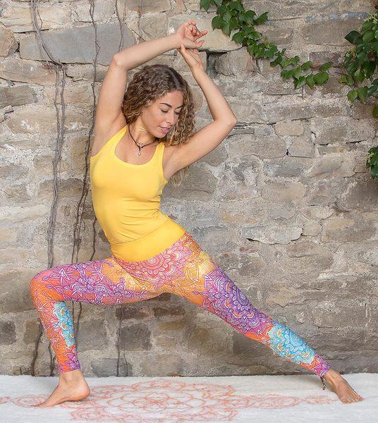 the spirit of om yoga legging rainbow avocadostore. Black Bedroom Furniture Sets. Home Design Ideas