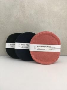 waschbare Abschminkpads 10er Set/ groß BioSweatstoff - treu