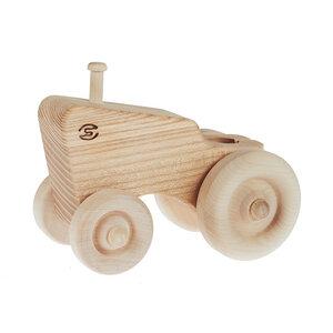 Traktor - Spielzeug aus Holz - Pislik