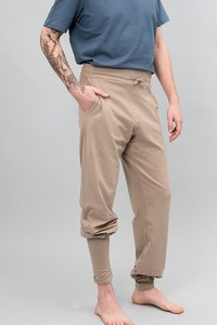 Mahan Yogahose Taupe - Breath of Fire