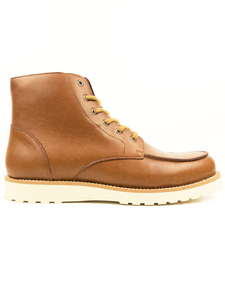 Niedrige Rig Booties Hellbraun Herren - Will's Vegan Shop