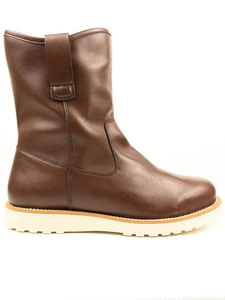 Pull-on Rig Booties Kastanie Herren - Will's Vegan Shop