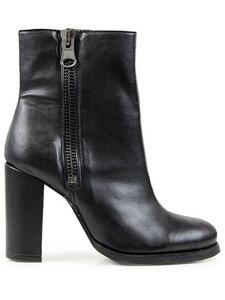 Luxe Stiefel Mit Hohem Absatz Schwarz Damen - Will's Vegan Shop
