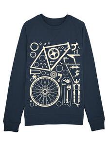 Fahrradteile - Bio & Fairtrade Sweatshirt - What about Tee
