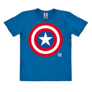 LOGOSHIRT - Marvel - Captain America - Logo - Kinder - Bio T-Shirt  - LOGOSH!RT