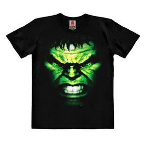 LOGOSHIRT - Marvel - Hulk - Gesicht - Kinder - Bio T-Shirt  - LOGOSH!RT
