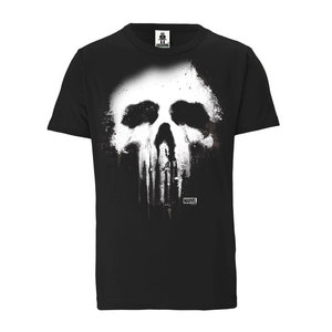 LOGOSHIRT - Marvel - Punisher - Totenkopf - Bio - Organic T-Shirt - LOGOSH!RT