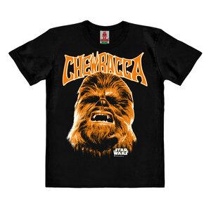 LOGOSHIRT - Star Wars - Chewbacca - Gesicht - Kinder - Bio T-Shirt  - LOGOSH!RT