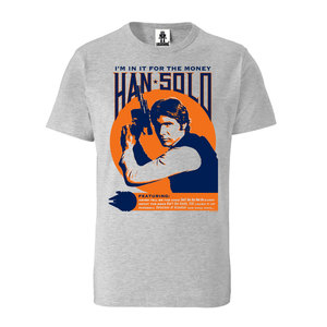 LOGOSHIRT - Star Wars - Han Solo - T-Shirt - 100% Organic Cotton  - LOGOSH!RT