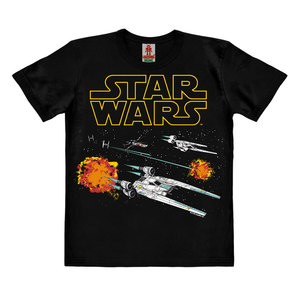 LOGOSHIRT - Star Wars - Starfighter - Kinder - Bio T-Shirt  - LOGOSH!RT