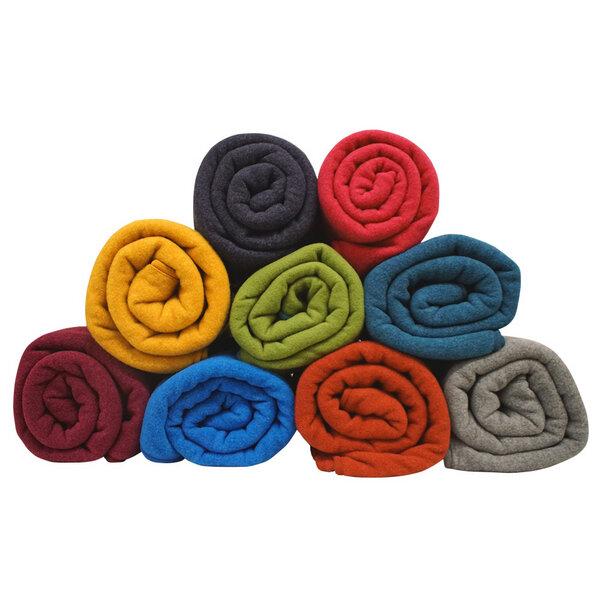 Decke Farbe Fuchsia: Pickapooh - Decke Bio-Wollfleece
