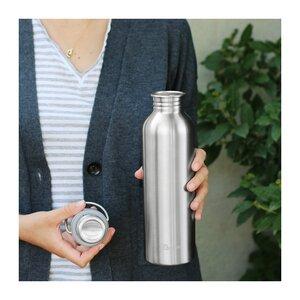 Plastikfreie Trinkflasche 1L - Qwetch