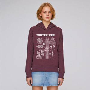 Kapuzensweater Winter Lover - Gary Mash