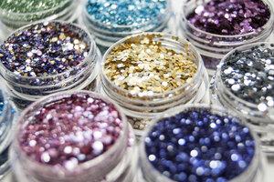 Biologisch abbaubarer Glitzer - Glitterkram