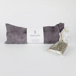 RELAXATION Augenkissen mit Lavendel & Leinsamen - Kaliko