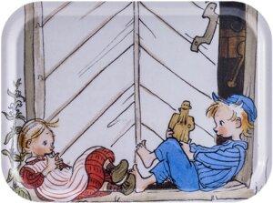 Tablett aus Birkenholz - Michel aus Lönneberga (Emil und Ida) - ÅRY HOME