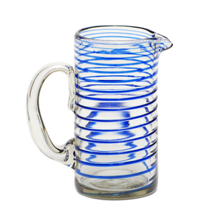 Krug LIMONADA aus Recyclingglas, mundgeblasen - GLOBO Fair Trade