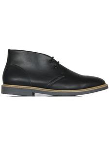 Signature Deserts (Weite Passform) Schwarz Herren - Wills Vegan Shoes