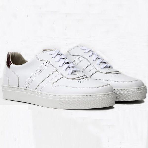 Alvaro Sneaker (weiß/rot, MF)