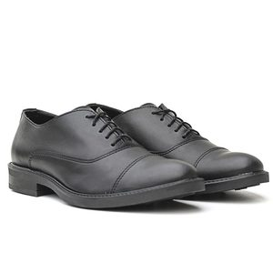 Businessschuhe Vegan Men Oxford GRADIL (schwarz,  Microfaser) - Fairticken