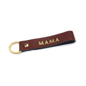 personalisierter Schlüsselanhänger mit Wunschtext - lille mus