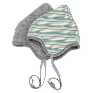Baby Wendemütze Flora Bio-Wollfleece - Pickapooh