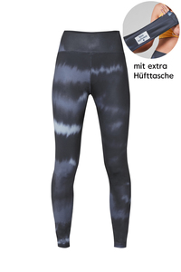 Water color Leggings mit extra Hüfttasche  - BOO Surfwear