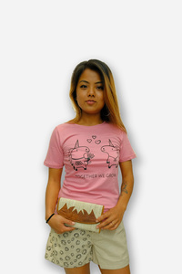 HH Love-Unicorn Einhorn T-Shirt Damen - Himal Hemp