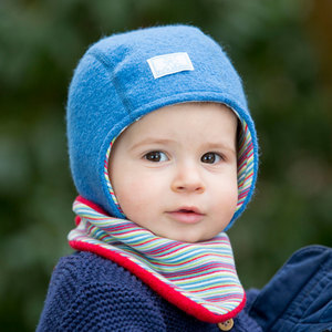 Baby Wendemütze Luc Bio-Wollwalk - Pickapooh