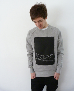 Paperboat 2.0 Men Sweater Organic & Fair Wear - ilovemixtapes