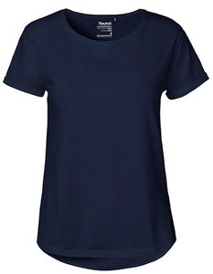 Damen Roll Up Sleeve T-Shirt von Neutral Bio Baumwolle Rollärmel - Neutral