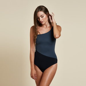 Sydney One Piece Reversible - Grey / Black - Woodlike Ocean