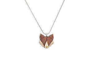 Halskette Fox - BeWooden