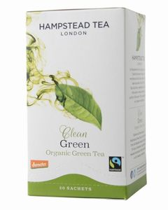 clean green Teebeutel - 40 g - Hampstead Tea London