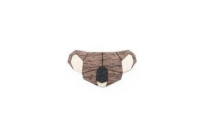 Brosche aus Holz - Koala |  Mode Schmuck - BeWooden