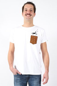"Kipepeo Männer Shirt ""Nyani"". Handmade in Kenya. - Kipepeo-Clothing"