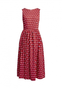 V&A Esther Print Midi Dress - People Tree